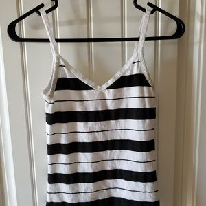 OP Black and White Striped Tank